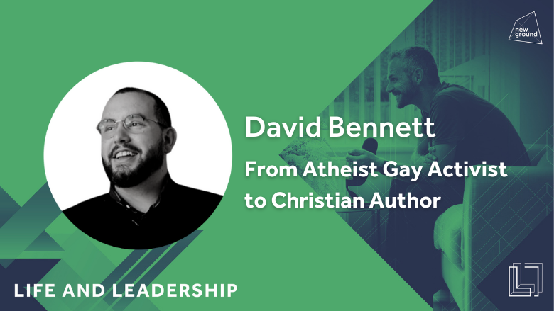 From Atheist Gay Activist to Christian Author